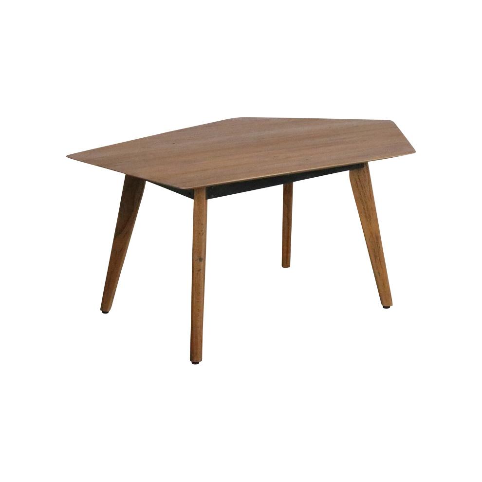 - Craftsman Tisch Geometric Aus Recyceltem Teakholz STUFF Shop
