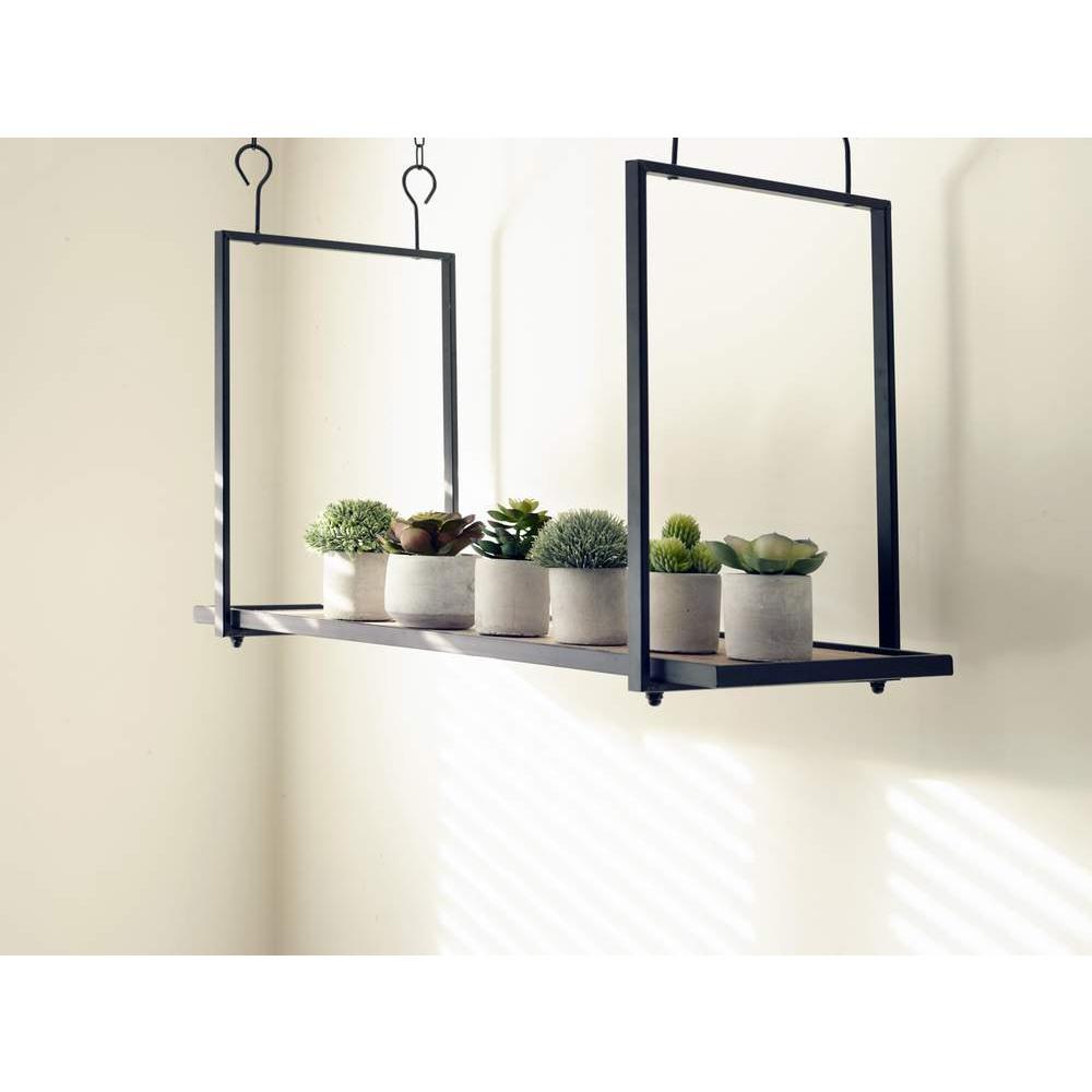 deko kunstplanze buchsbaum im beton topf online kaufen. Black Bedroom Furniture Sets. Home Design Ideas