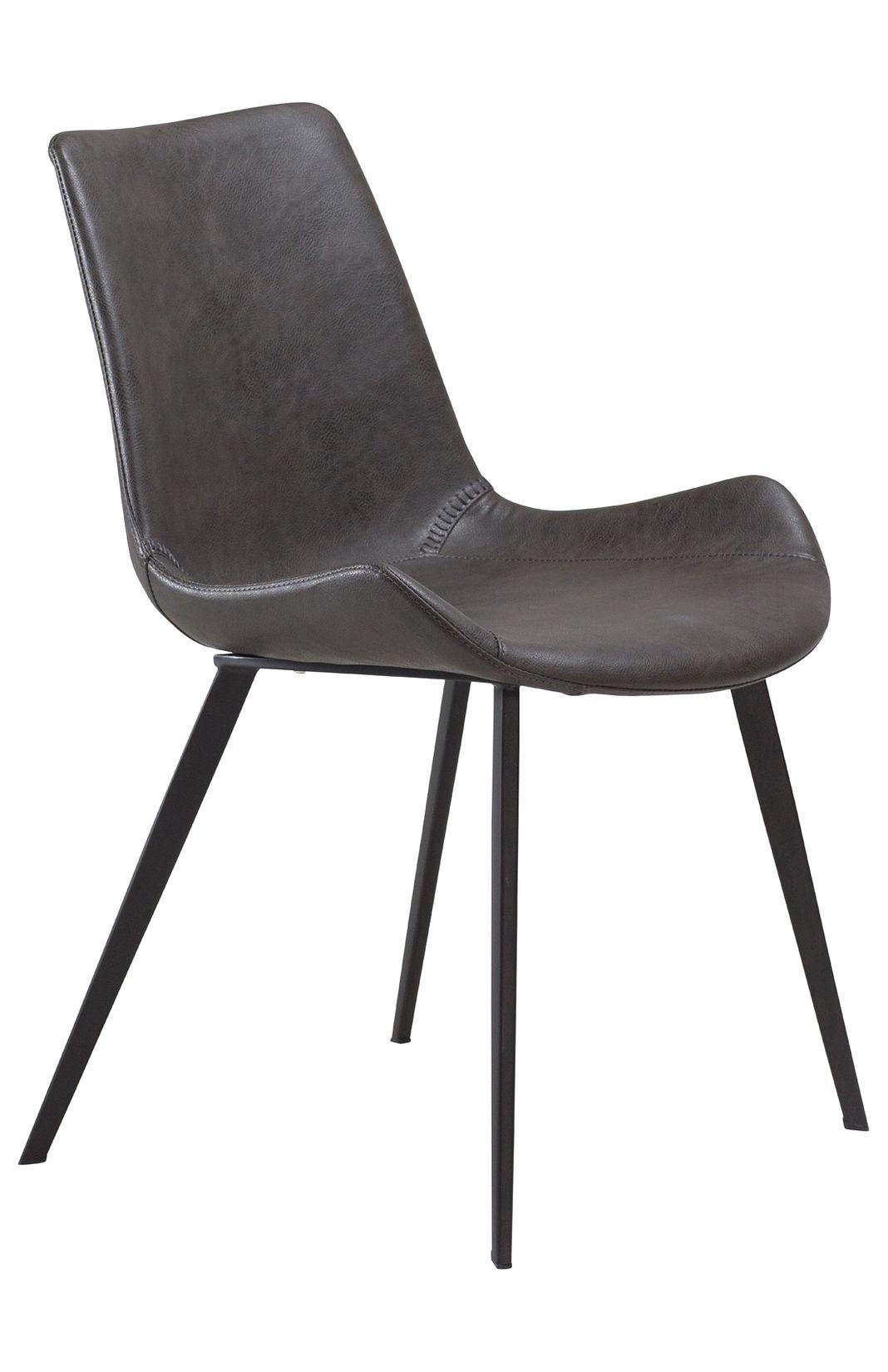 Stuhl DanForm Hype Vintage Grau Kunstleder