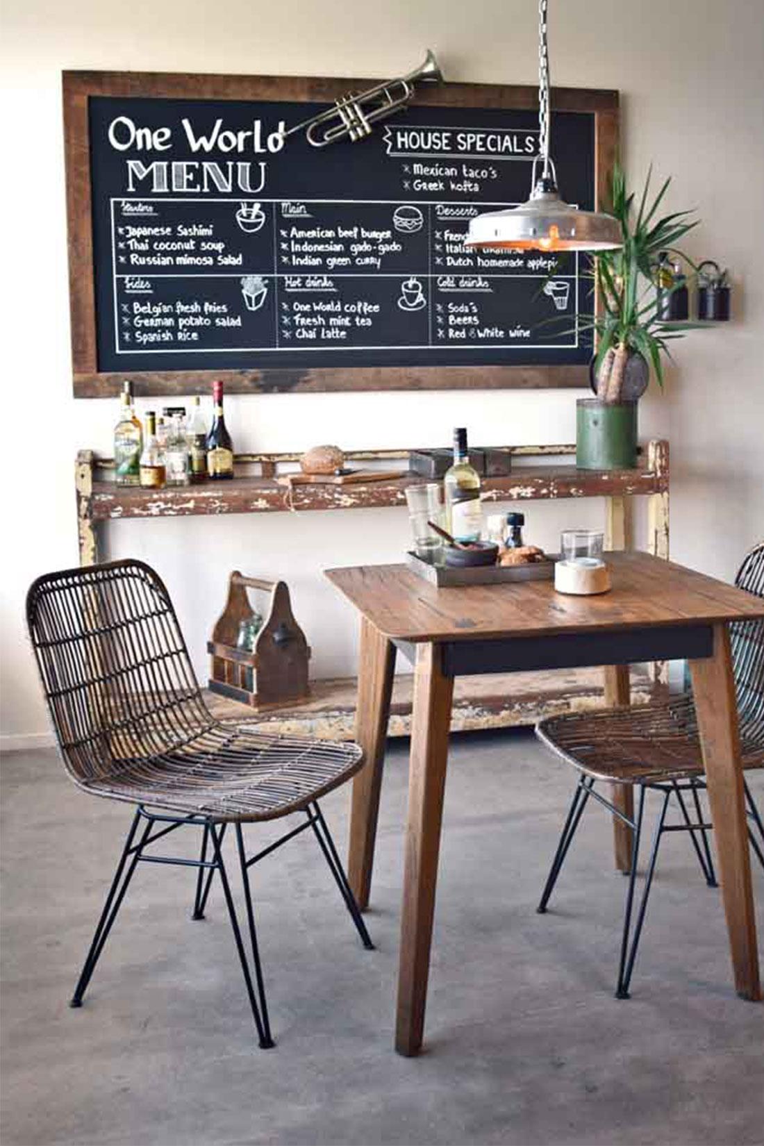 Hedendaags Große Kreidetafel in Vintage Design online kaufen   STUFF Shop WX-39