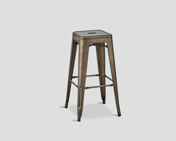 Barhocker Mit Lehne barhocker industrial metal frame ohne lehne dialma brown kaufen