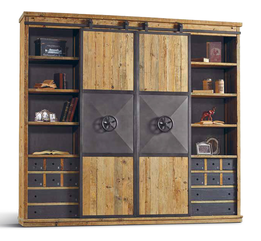 beste schrank industrial bilder wohnzimmer dekoration ideen. Black Bedroom Furniture Sets. Home Design Ideas