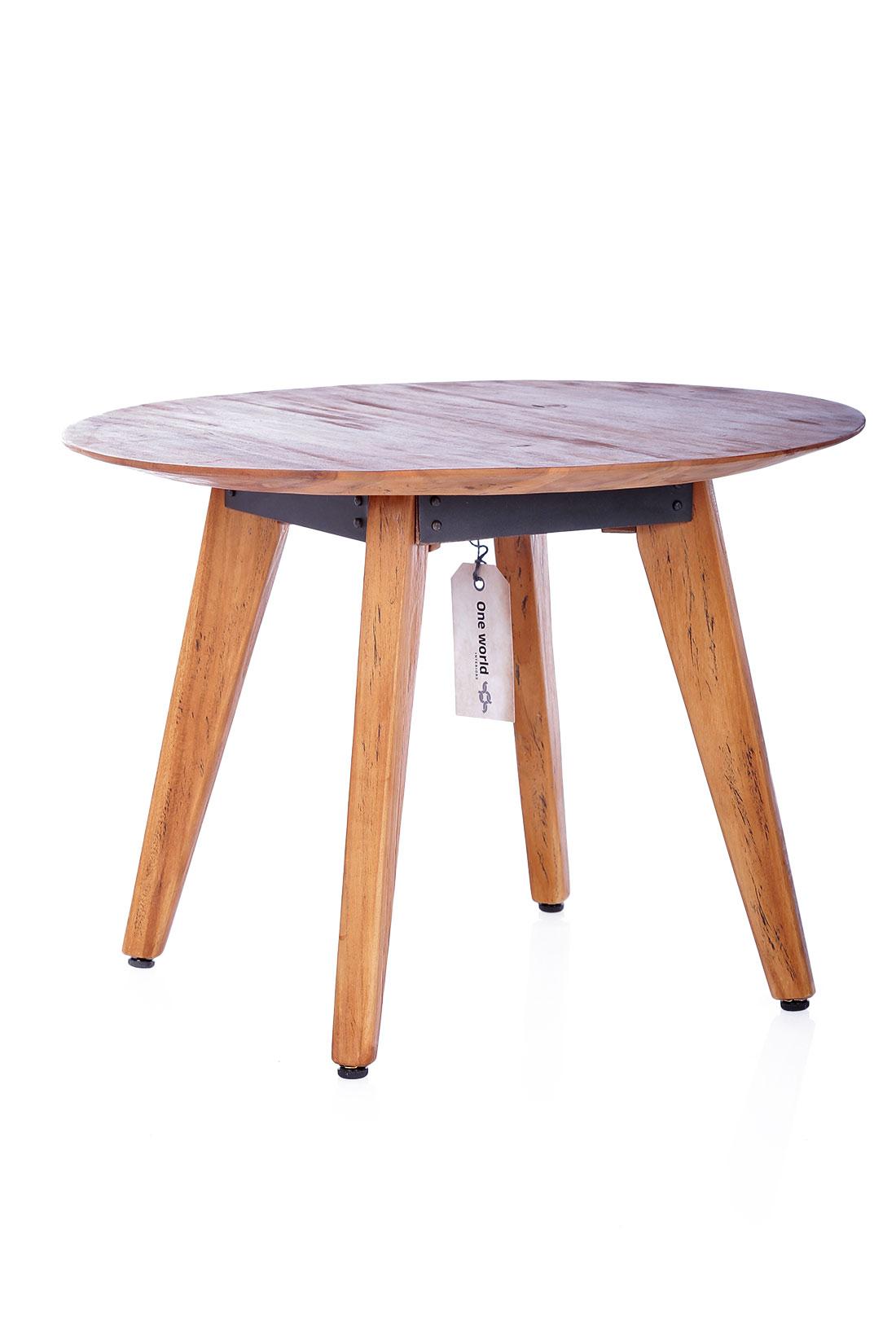 - Coffee Table Craftsman Aus Recyceltem Teakholz 55 Cm STUFF Shop